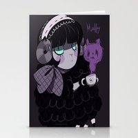 goth Stationery Cards featuring Goth Tea by Princess Misery