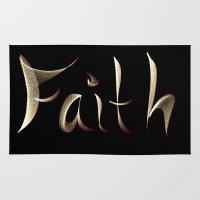 faith Area & Throw Rugs featuring Faith by Tina Vaughn