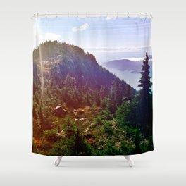 Howe Sound Crest Trail Shower Curtain