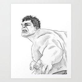Have a Hulk Art Print