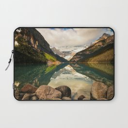 Symmetrical Lake Louise Laptop Sleeve
