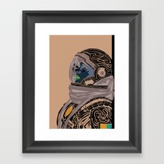 Brand - Interstellar Framed Art Print