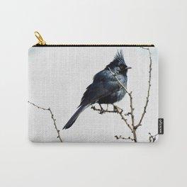 Desert Black Bird Carry-All Pouch