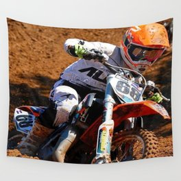 Racing Home Wall Tapestry