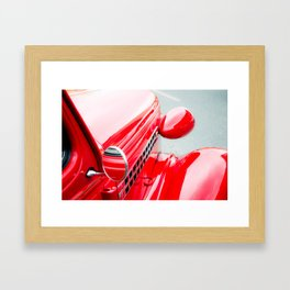 Hot Rod Framed Art Print