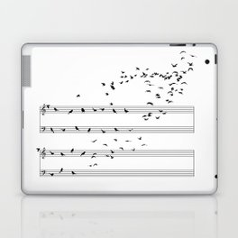 Natural Musical Notes Laptop & iPad Skin