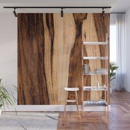 Sheesham Wood Grain Texture, Close Up Wall Mural