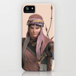 Amano's girl iPhone Case