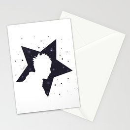 Star Man (Silhouette) Stationery Cards