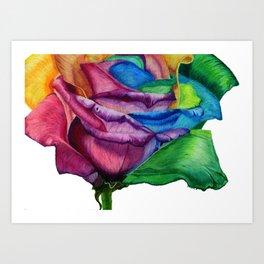 OPEN UP Art Print