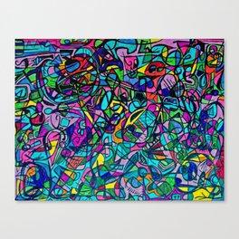 Roadtrip Diddle #1 Canvas Print