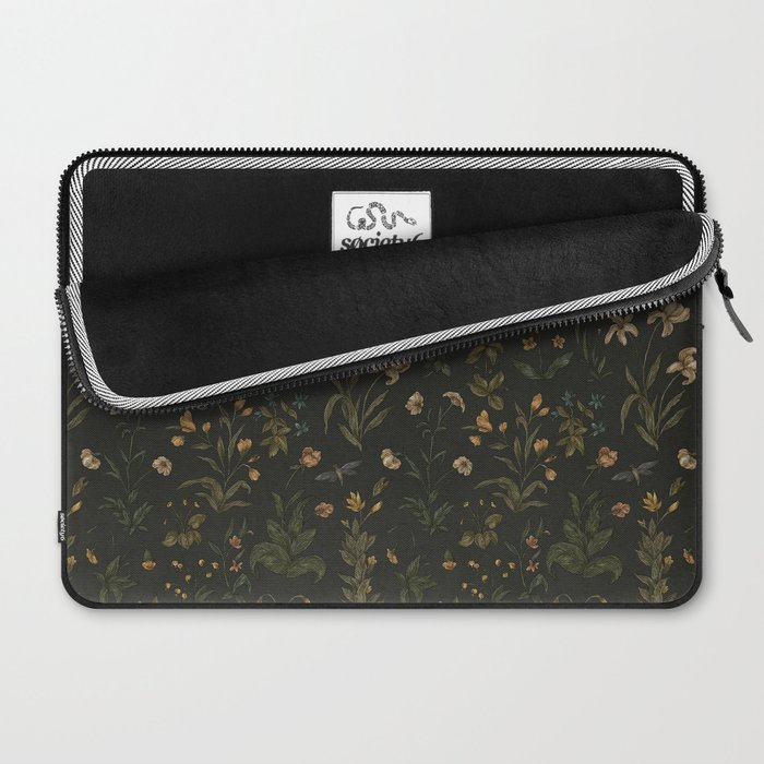 Old World Florals Laptop Sleeve
