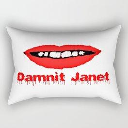 Damnit Janet! Rectangular Pillow