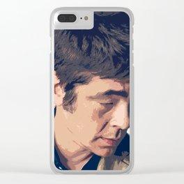 Benicio del Toro Clear iPhone Case