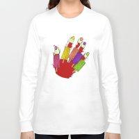 dexter Long Sleeve T-shirts featuring DEXTER by Gianluca Floris