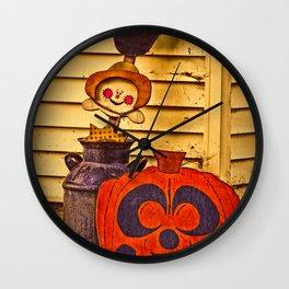 Halloween Fun Wall Clock