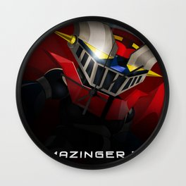 mazinger fan art Wall Clock