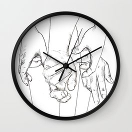 Invisible Hand Theory Wall Clock
