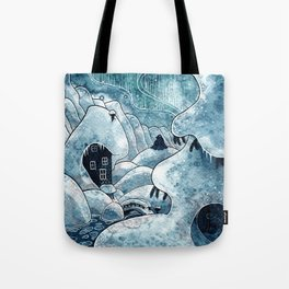 Winter in The Moomin Valley Tote Bag