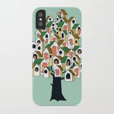 Bird houses iPhone X Slim Case