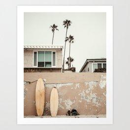 San Diego Surfing Kunstdrucke