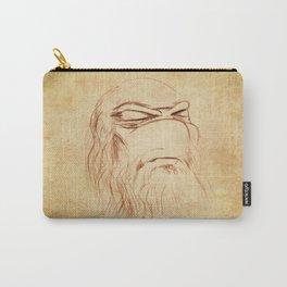 Leonardo's Self Portrait Carry-All Pouch