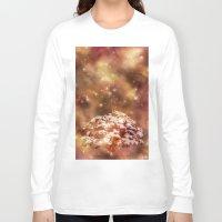 meditation Long Sleeve T-shirts featuring Meditation by Myriam D. O.
