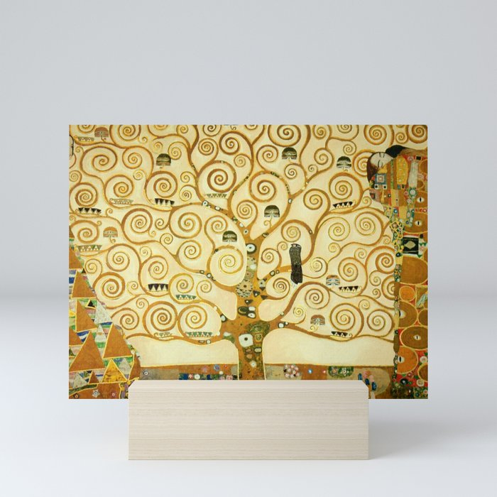Gustav Klimt The Tree Of Life Mini Art Print