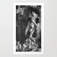 Let Go Or Be Dragged Art Print