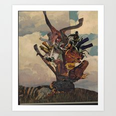 The Gallows Tree Art Print