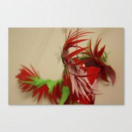 The Party Parrot Canvas Print