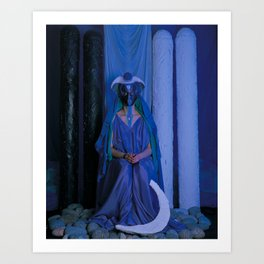 The Priestess Art Print