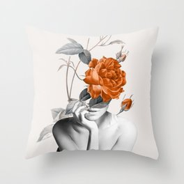 Rose 3 Throw Pillow