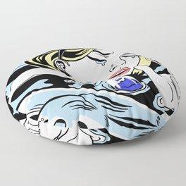 Drowning Alice Floor Pillow