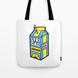 Lyrical Lemonade Tote Bag