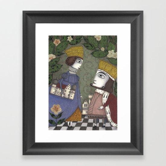 My Father, the King Framed Art Print