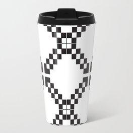 Checkerboard X Travel Mug