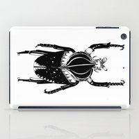 beetle iPad Cases featuring Beetle  by Lana Alana