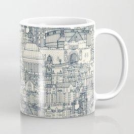 Edinburgh toile indigo pearl Coffee Mug