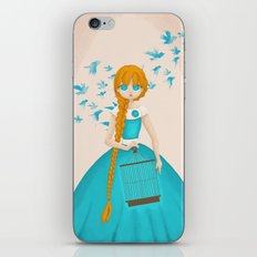 Flying Birds II iPhone & iPod Skin