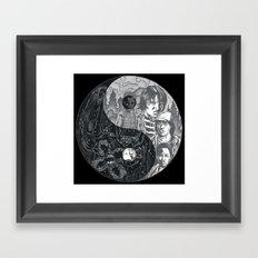 Upside Down Framed Art Print