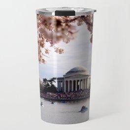 Cherry Blossoms of DC Travel Mug