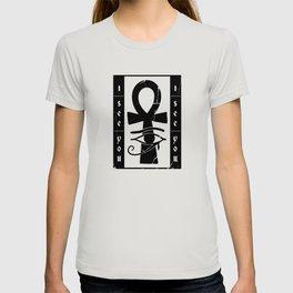 I see you symbol osiris eye and celtic cross T-shirt