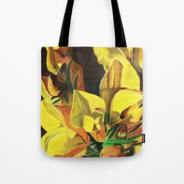 Golden Gorse Flowers Tote Bag