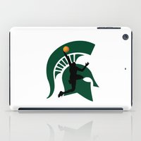 michigan iPad Cases featuring Michigan Basketball by Anthony M. Davis