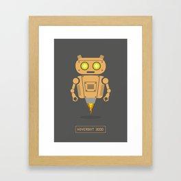 Hover Bot Framed Art Print
