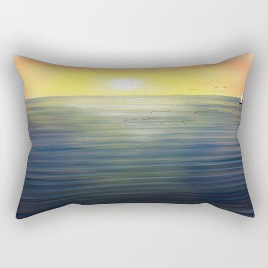 Sea Sun Rectangular Pillow