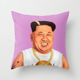 HIPSTORY - Kim Jong Un Throw Pillow