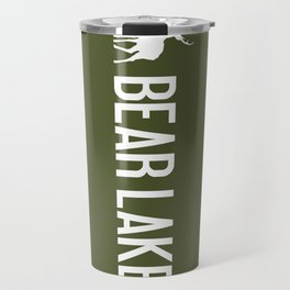 Bear Lake, Utah - Deer Travel Mug