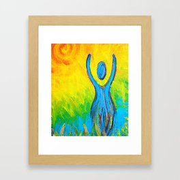 Inspiration Rising Framed Art Print